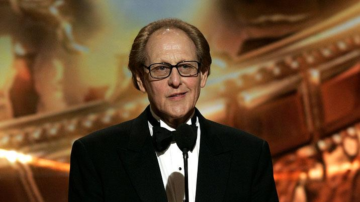 Philip Berk, HFPA President at the 64th annual Golden Globe Awards.