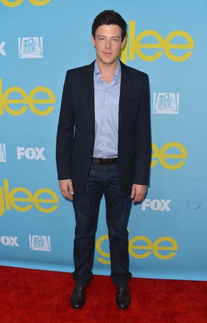 "Cory Monteith attends the Academy of Television Arts and Sciences' screening of ""Glee"" on May 1, 2012 -- Getty Images"
