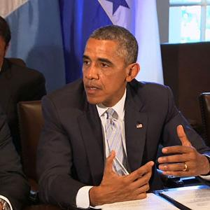 Obama Asks Central American Leaders for Help