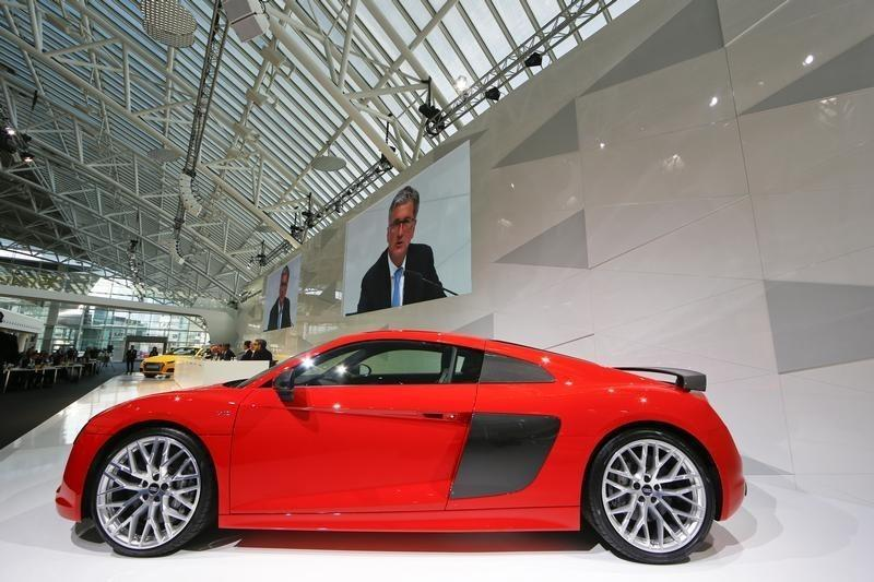Audi's race to catch up with BMW hurts profit margin