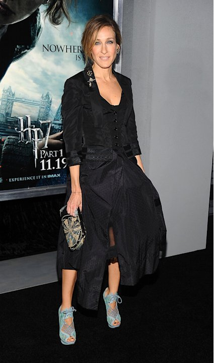 Harry Potter and the Deathly Hallows Pt 1 NYC premiere 2010 Sarah Jessica Parker