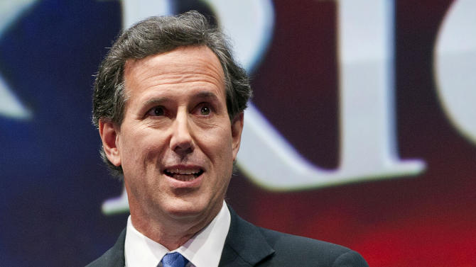 Santorum named CEO of Christian film studio