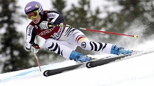 Maria Riesch Alpine Skiing Lake Louise 2011/12