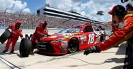 Pit stall assignments for today's Sprint Cup race