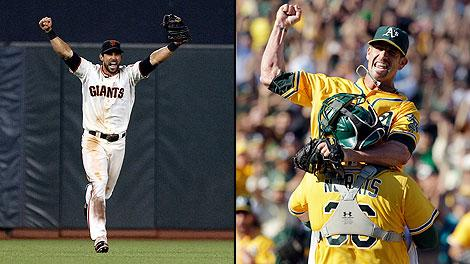 Tim Brown World Series pick A's Giants
