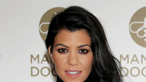 Kourtney Kardashian Shows Off Her Chiseled Bod in White Hot Bikini