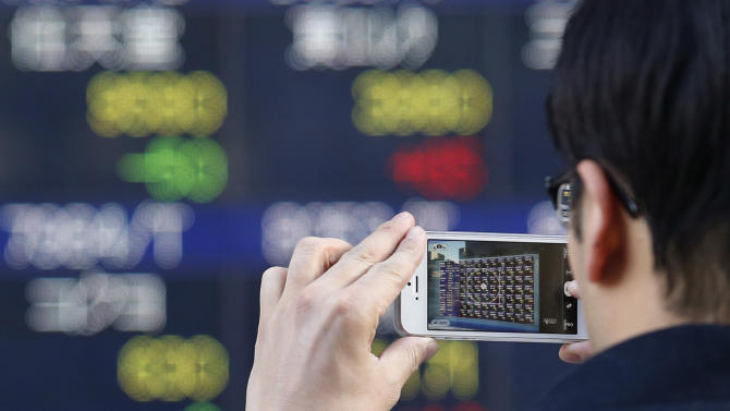 Asia stocks up on strong US earnings