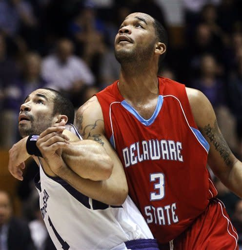 Northwestern beats Delaware State 69-50