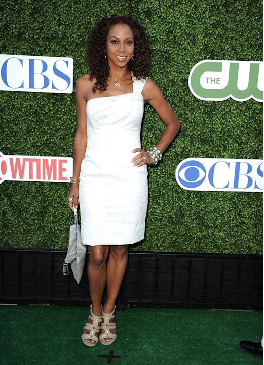 &quot;The Talk's&quot; Holly Robinson-Peete arrives at the TCA Summer 2010 CBS/The CW/Showtime &quot;Star Party in the Tent&quot; on July 28, 2010 in Beverly Hills, California. 