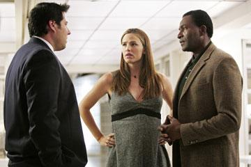 Greg Grunberg, Jennifer Garner and Carl Lumbly ABC's Alias