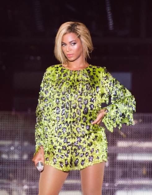 Beyonce shows off new cropped 'do -- Getty Premium