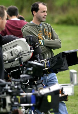 Director D.J. Caruso on the set of Universal Pictures' Two for the Money