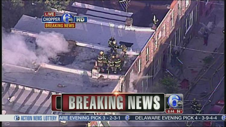 3 jump to escape house fire in South Philadelphia