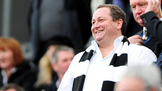 Newcastle chairman Mike Ashley
