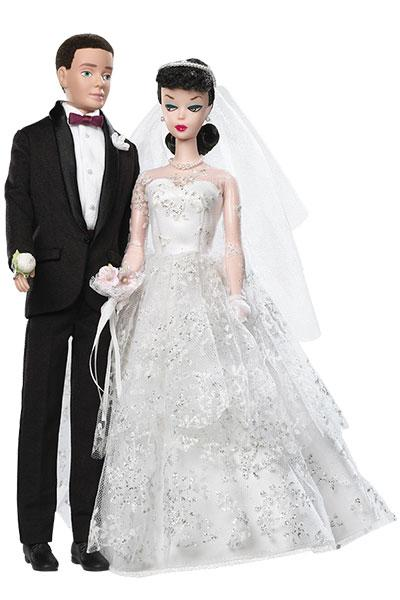 1959: The Original Wedding Day Barbie Doll And Ken Set