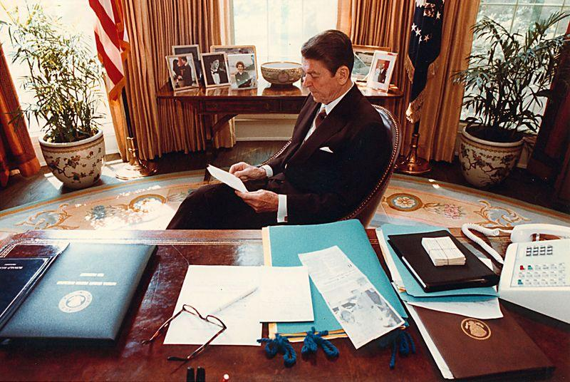 Transcripts from Ronald Reagan's press conferences could aid Alzheimer's research