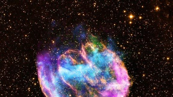 Rare Star Explosion Creates Galaxy's Youngest Black Hole