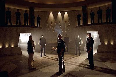 The inner sanctum of the elite secret society in Universal's The Skulls
