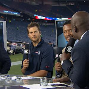 New England Patriots quarterback Tom Brady: We showed toughness and grinded it out