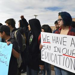 New Mexico Students Walk Out Over New Tests