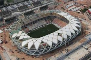 Construction worker killed at World Cup stadium