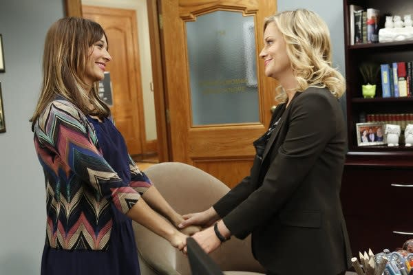 Exclusive Parks and Rec First Look: Ann Makes a Life-Changing Announcement to Leslie!