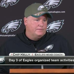 Chip Kelly addresses timeline for Bradford's return