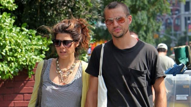 Marisa Tomei and Logan Marshall Green sighting on August 21, 2009 in New York City  -- Getty Images