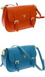 BAG LOVE: Prada's SS12 Hunting Bag