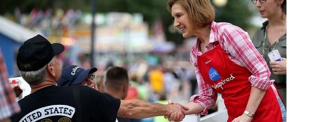 In Iowa, Carly Fiorina enjoys her moment