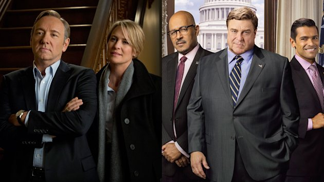 """House of Cards"" and ""Alpha House"""