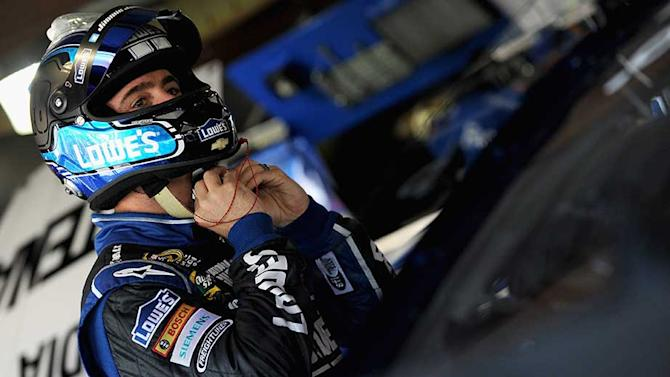 Martinsville race is Johnson's to lose