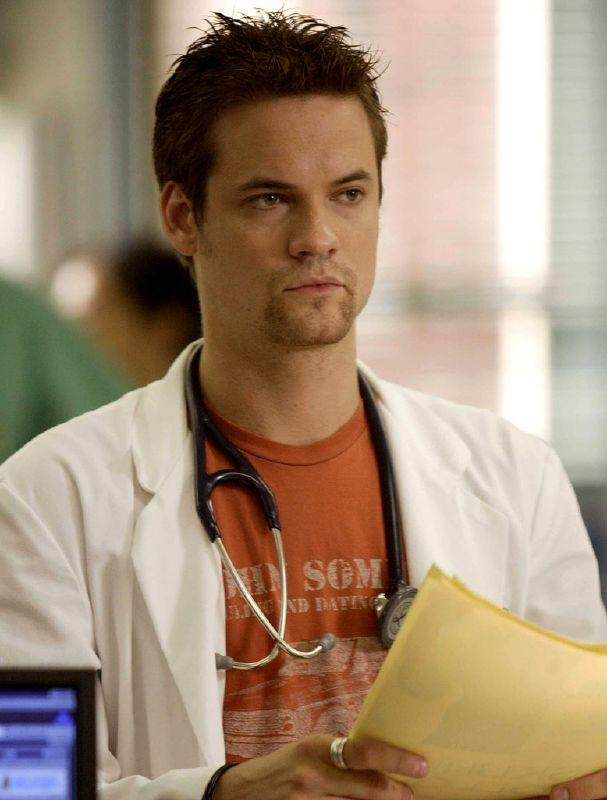 Shane West as Ray Barnett in ER on NBC.
