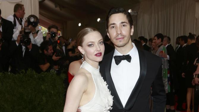"U.S. actors Seyfried and Long arrive for the Metropolitan Museum of Art Costume Institute Gala 2015 celebrating the opening of ""China: Through the Looking Glass,"" in Manhattan"