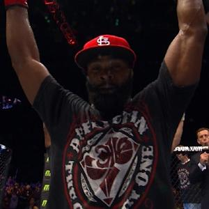 Fight Night Macao: Tyron Woodley Octagon Interview