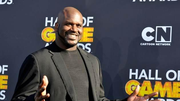 Shaquille O'Neal attends the Third Annual Hall of Game Awards hosted by Cartoon Network at Barker Hangar on February 9, 2013 in Santa Monica, Calif. -- Getty Premium