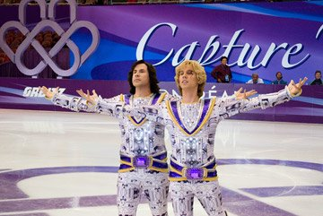 Will Ferrell and Jon Heder in DreamWorks Pictures' Blades of Glory