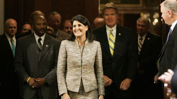 Nikki Haley's Reelection Campaign Drops White Supremacist