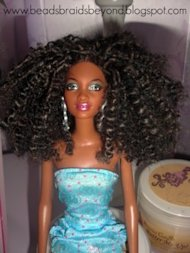 Grace with her new 'do. (Photo: Black Girl with Long Hair via BeadsBraidsBeyond.blogpost.com)