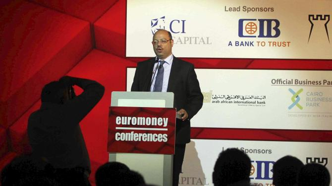 Dimian speaks at the opening of the Euromoney Conference in Cairo