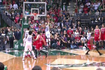 Watch Jerryd Bayless' incredible game-winning buzzer beater against the Bulls
