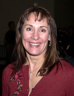 Premiere: Laurie Metcalf at the Hollywood premiere for The Dancer Upstairs - 1/24/2002