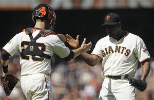 Crawford's 2 RBIs help Giants beat Cardinals 7-5