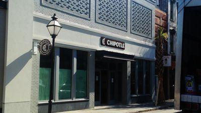 Signage is Up at King Street Chipotle