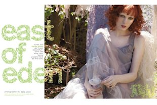 Karen Elson Shot by Kate Elson for NYLON
