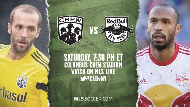 Columbus Crew vs. New York Red Bulls | MLS match preview
