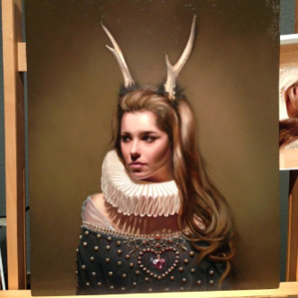 Looking Horny! Cheryl Cole Morphed Into A Stag By Rose ... Cheryl Cole Instagram
