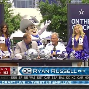 Dallas Cowboys pick defensive end Ryan Russell No. 163 in 2015 NFL Draft