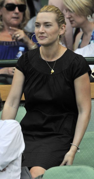 Kate Winslet at Wimbledon 2009 © Rex