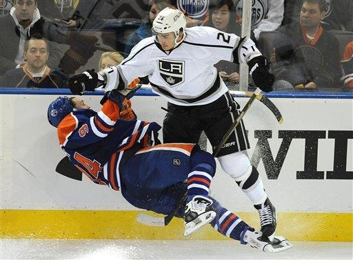 Hall scores in OT to lift Oilers past Kings